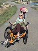Phyllis on the recumbent