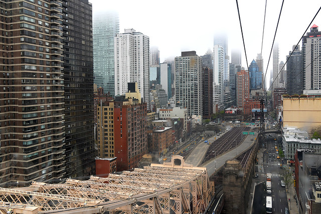 Coming into Manhattan