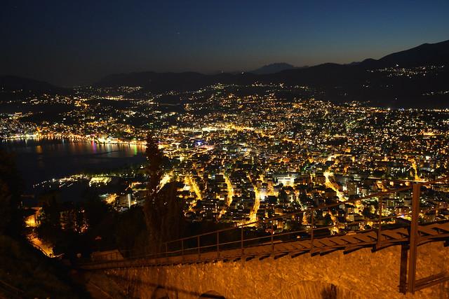 Lugano notturna