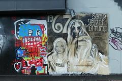 Zoe Akroyd Parker street art, Croydon