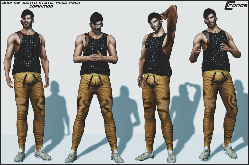 NEW RELEASE – Andrew Bento Pose Pack