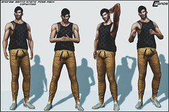 NEW RELEASE - Andrew Bento Pose Pack