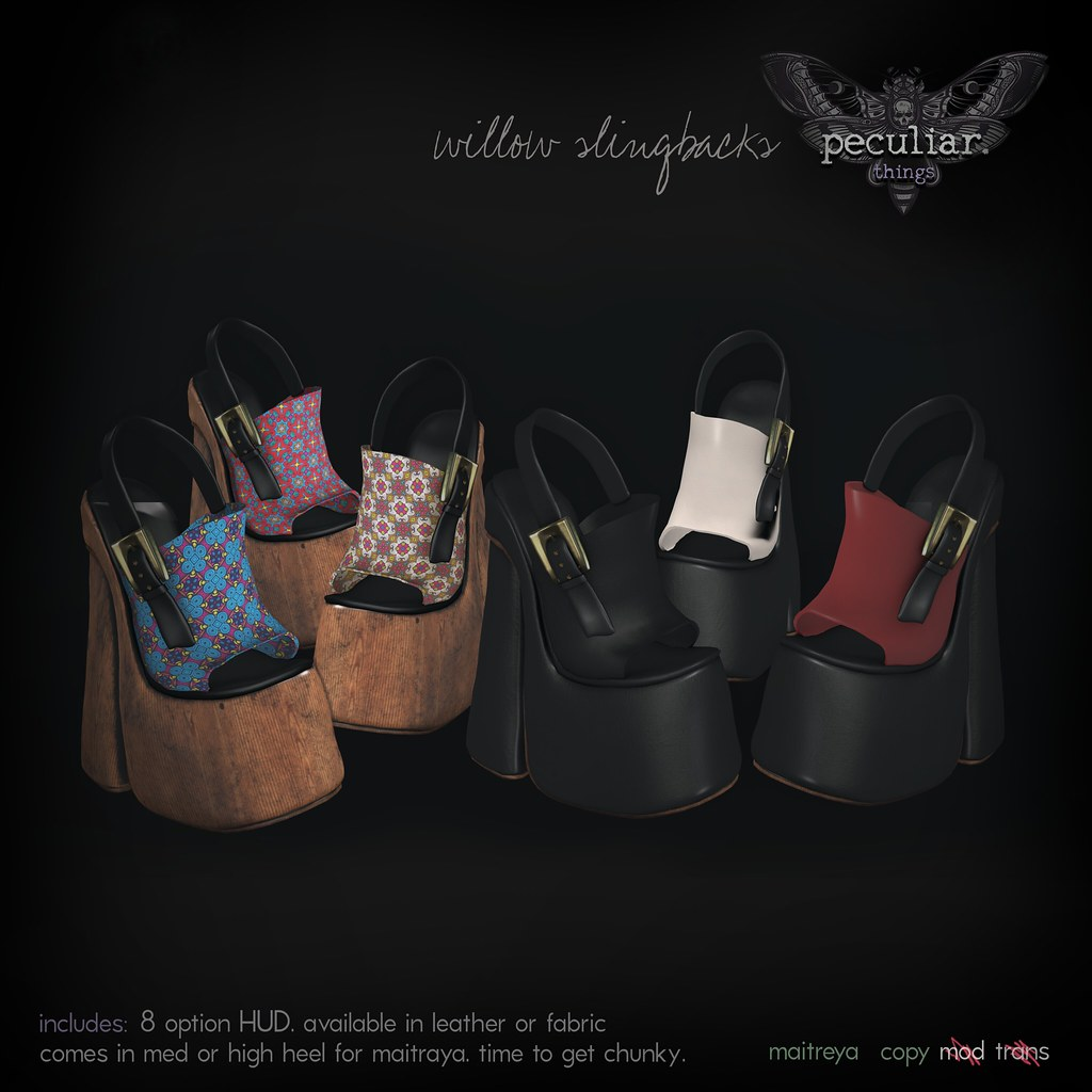 PROMO Willow Slingbacks