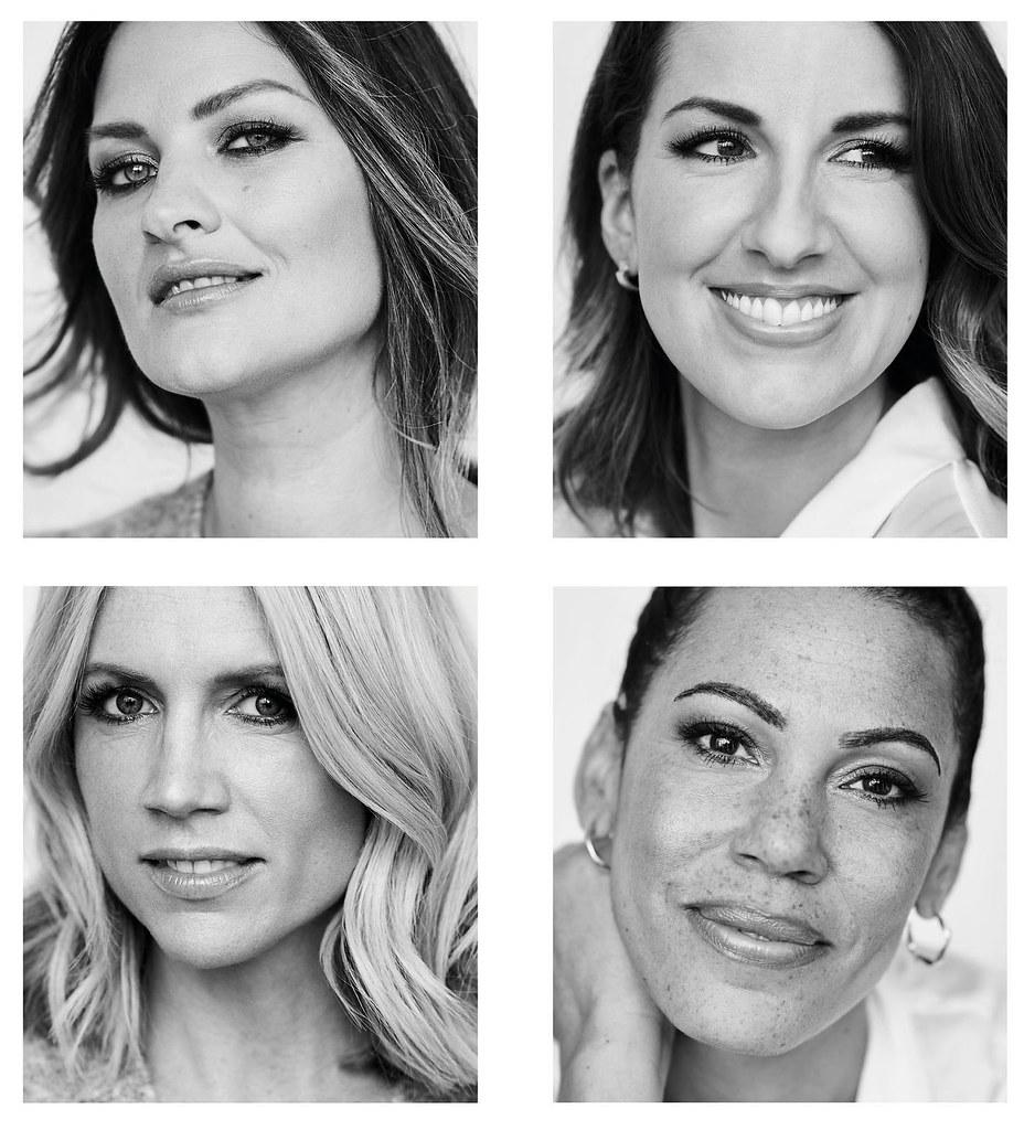 Over 40 Bloggers Who Have Modelled For Brands - Sam Chapman, Lauren Shepherd, Charlotte Broadbent & Karen Williams for Fantasie