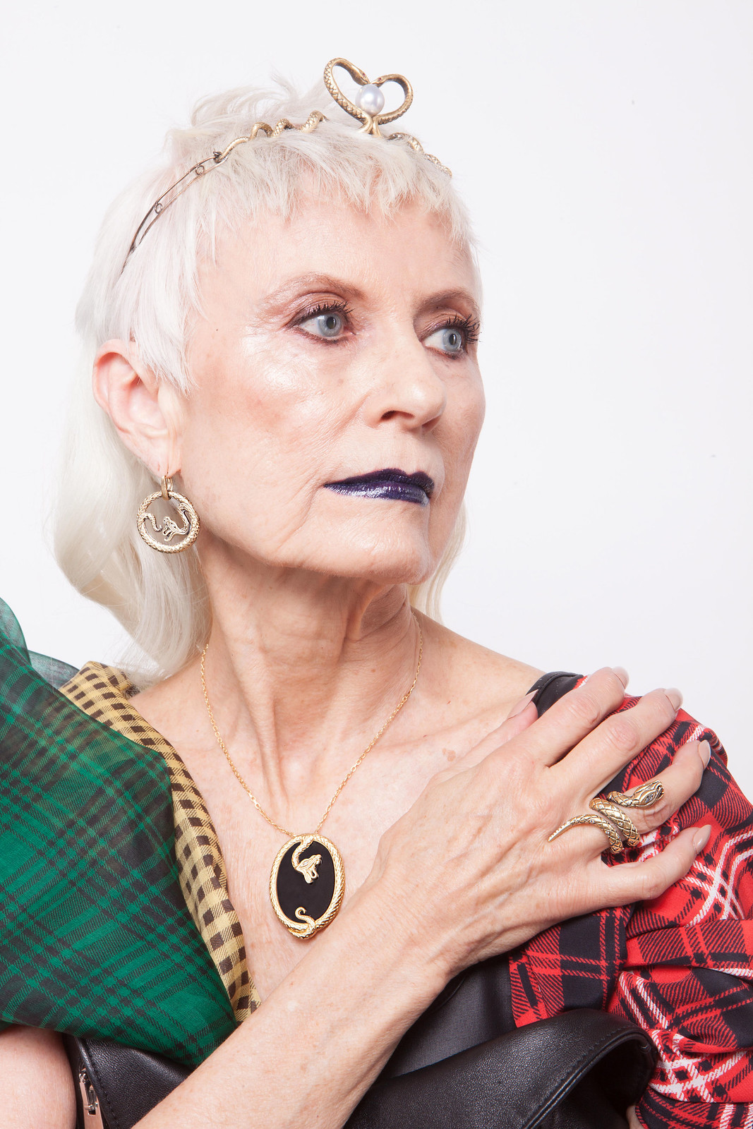 Over 40 Bloggers Who Have Modelled For Brands - Judith of Style Crone for Wendy Brandes Jewelry
