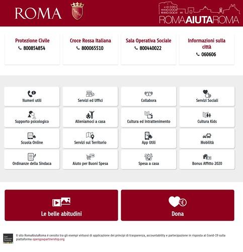 ROMA AIUTA ROMA RESTAURO ARCHITETTURA. Sono stata in una delle edicole convenzionate dove è possibile richiedere il modulo per la domanda del Bonus Affitto. Virginia Raggi / Facebook (30/04/2020).
