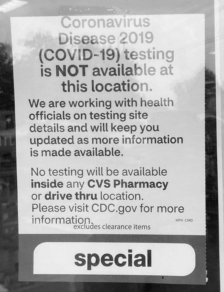 No testing in a small town in NC.  Our governor talks about Covid19 testing ad nauseam.  But where do we go in Knightdale NC?  They tell us not to go to doctor unless your sick. Where do we go?  Guess we wait until we get the virus, or can't breathe! Mand