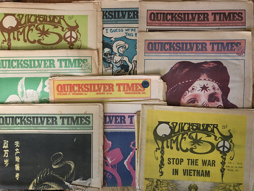Quicksilver Times (almost) complete collection: 1969-72 | by Washington Area Spark