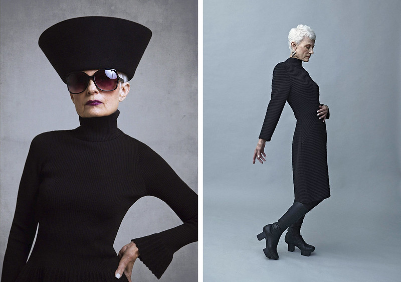 Over 40 Bloggers Who Have Modelled For Brands - Judith of Style Crone for Trine Kryger Simonsen