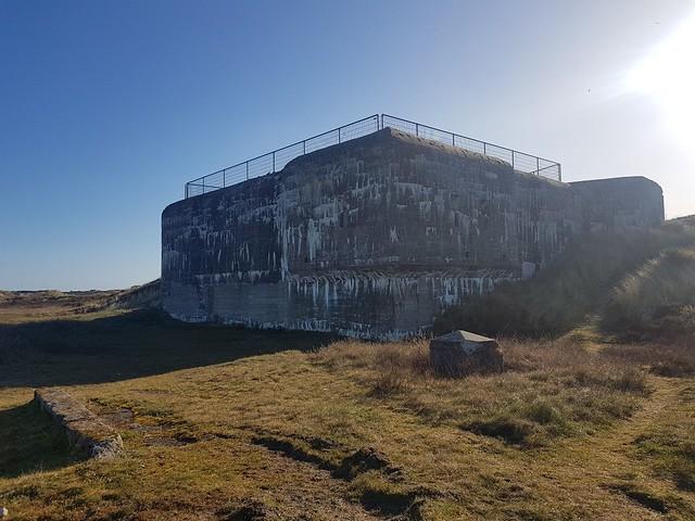 Atlantikwall Regelbau L487 Bertha - Commando Bunker for Luftwaffe Night Fighter From World War 2