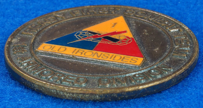 RD16192 1st Brigade 1st Armored Division Ready First Combat Team RFCT Challenge Coin DSC03272