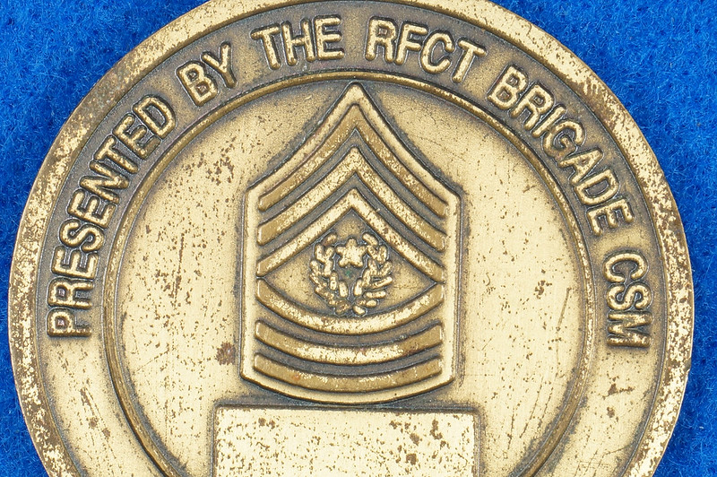 RD16192 1st Brigade 1st Armored Division Ready First Combat Team RFCT Challenge Coin DSC03271