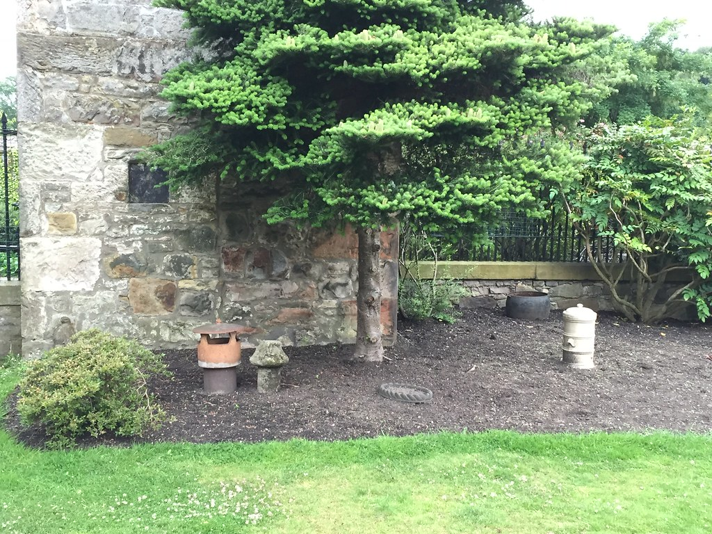 Before planting at Ravelston tower bed