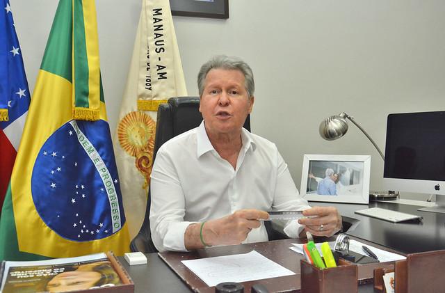 30.04.2020 Prefeito Arthur Neto Reforma administrativa