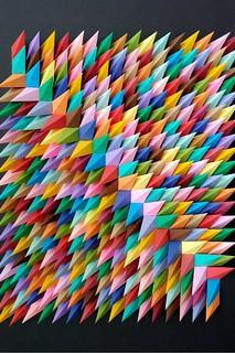 Dimensional Geo Paper Art