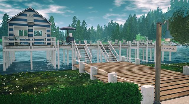 The Bluebonnet Fishing Dock