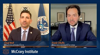 Acting Secretary of Homeland Security Virtual Event 01 | by Auburn University