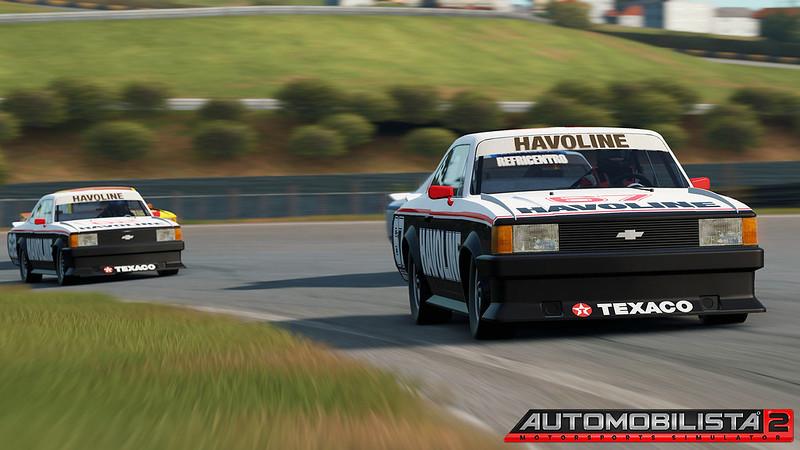 Classic 1986 Brazilian Opala Stock Car
