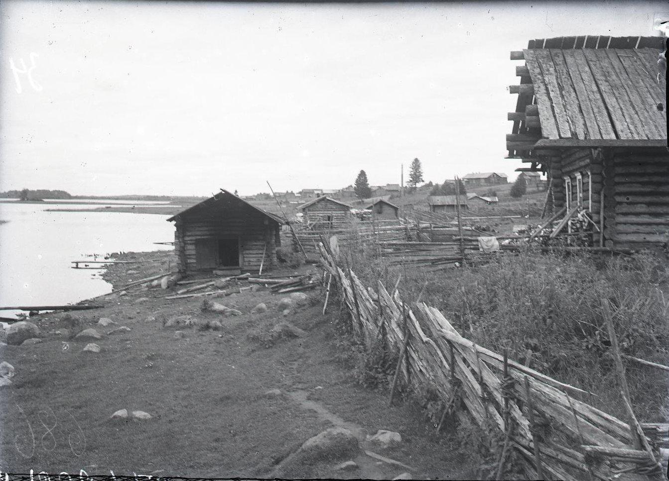 Задворки деревни