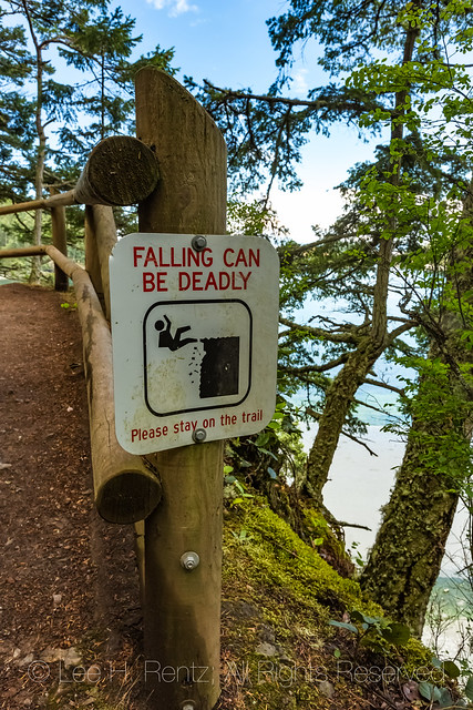 Trail in Deception Pass State Park