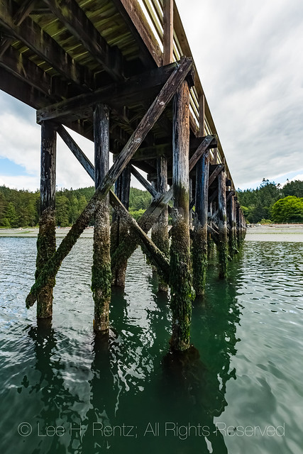 Dock in Deception Pass State Park