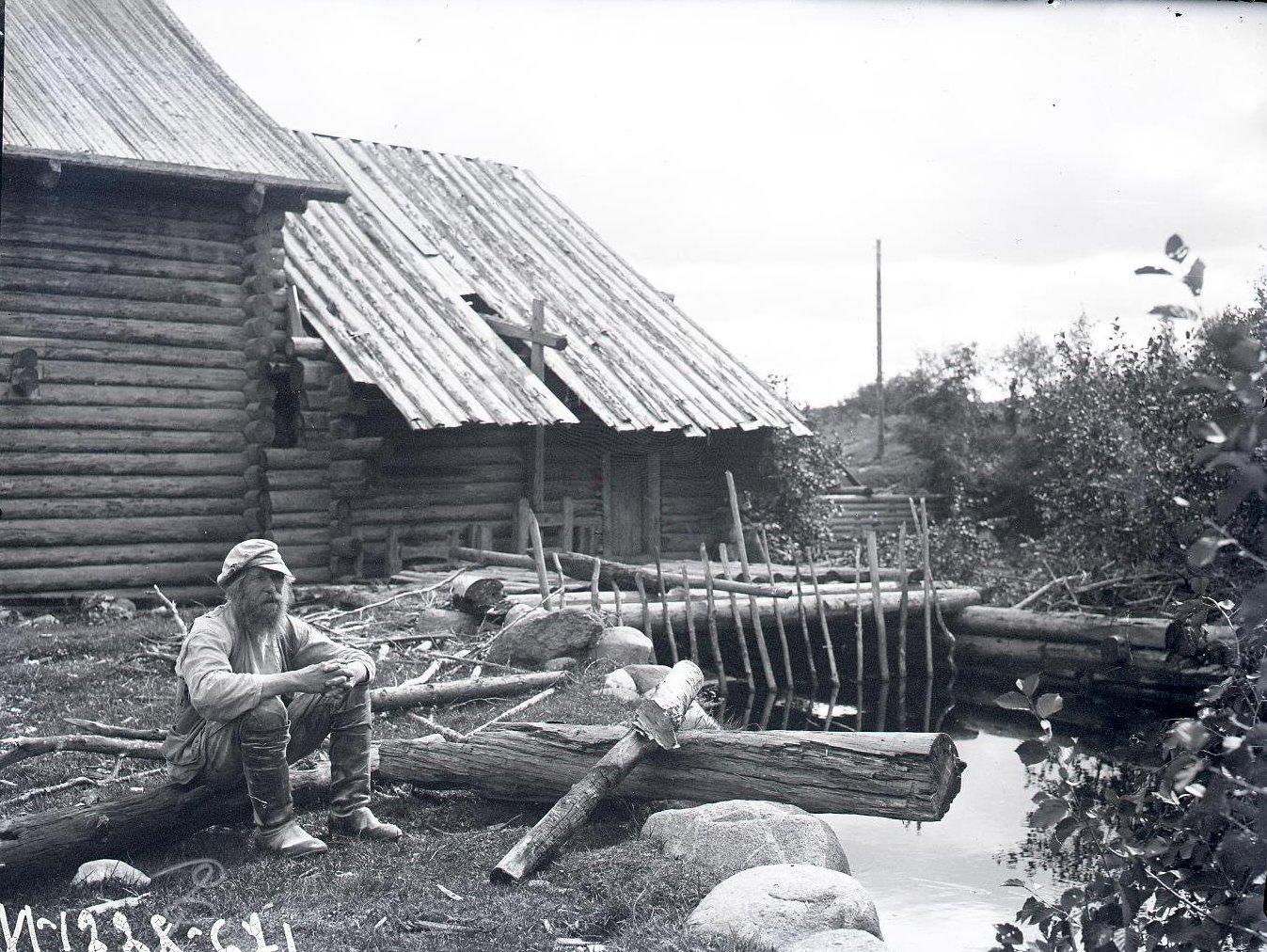 Водяная мельница у деревни Пар-Наволок