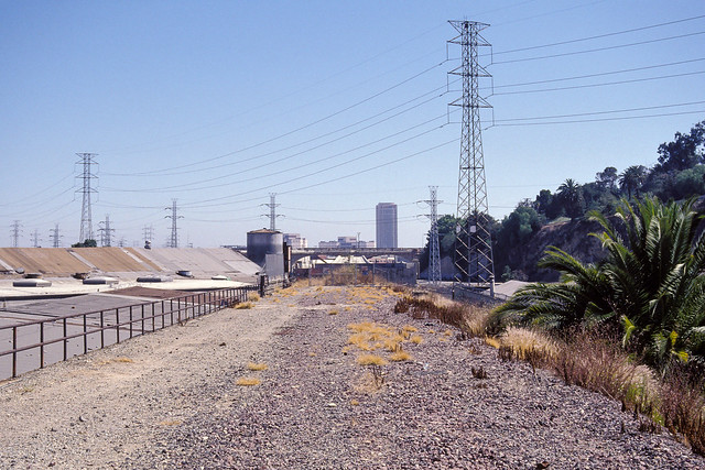 right of way. los angeles, ca. 1998.