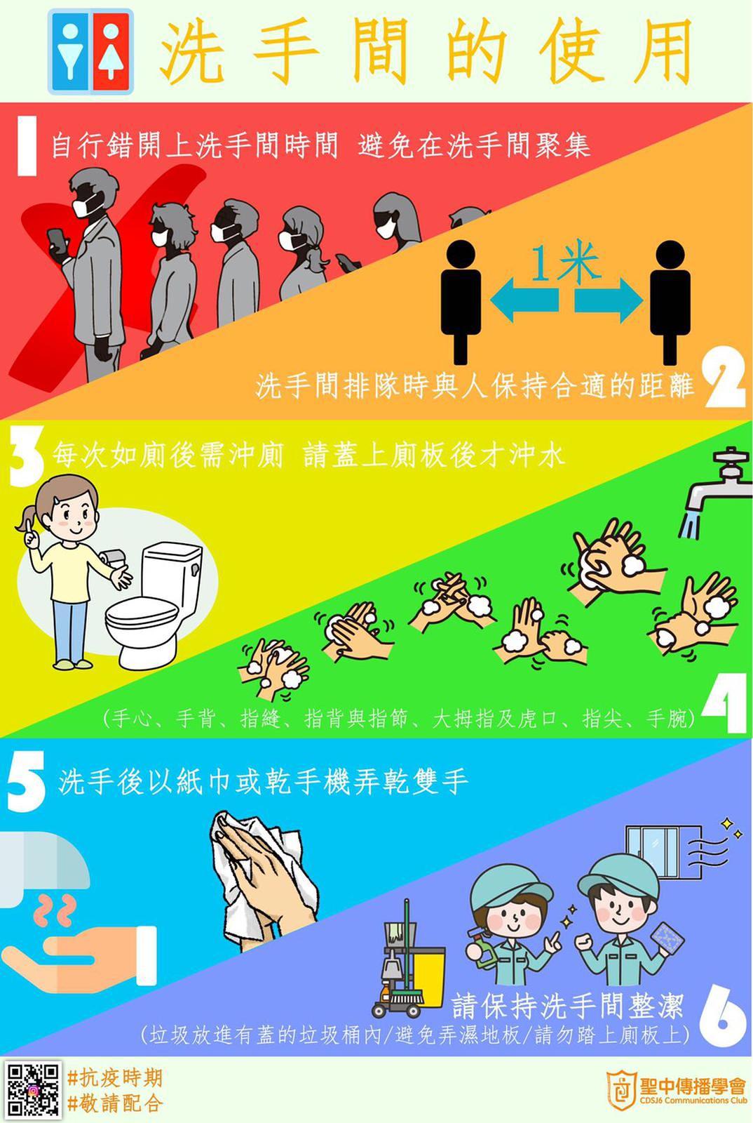洗手間的使用