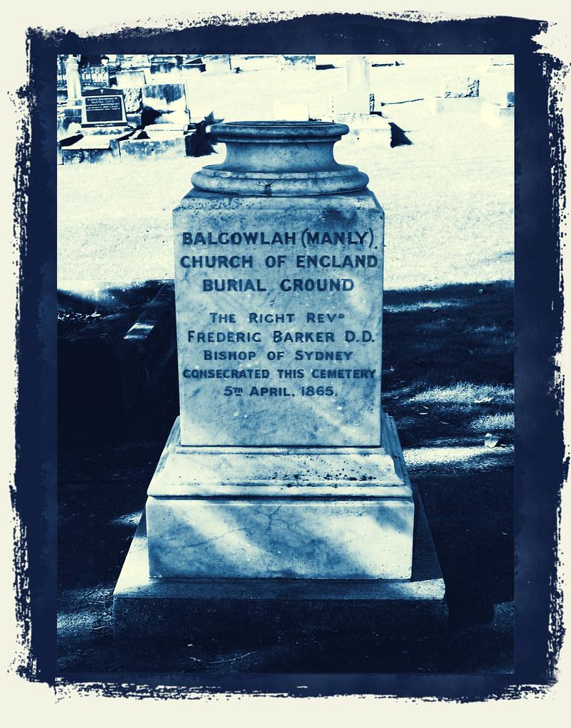 Manly Cemetery, Fairlight, Sydney, NSW.