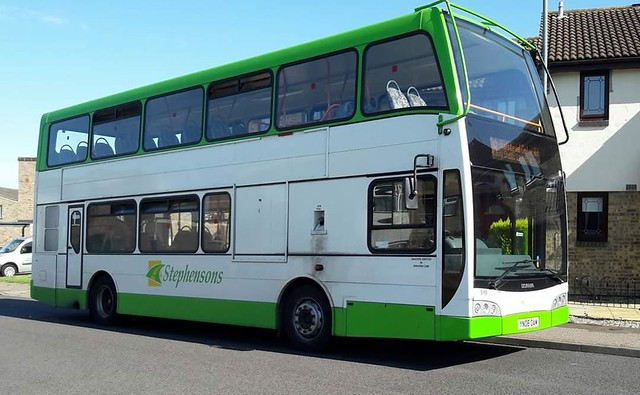 Stephensons Scania bus