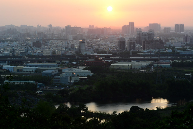 Sunset from Guanyinshan