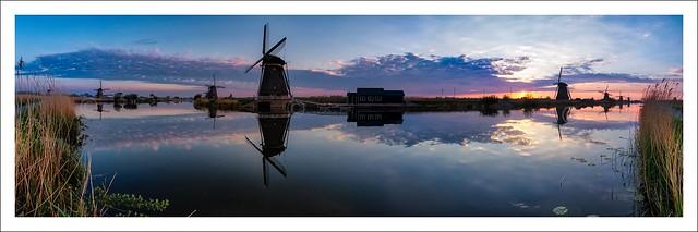 Sunrise a(r)t Kinderdijk