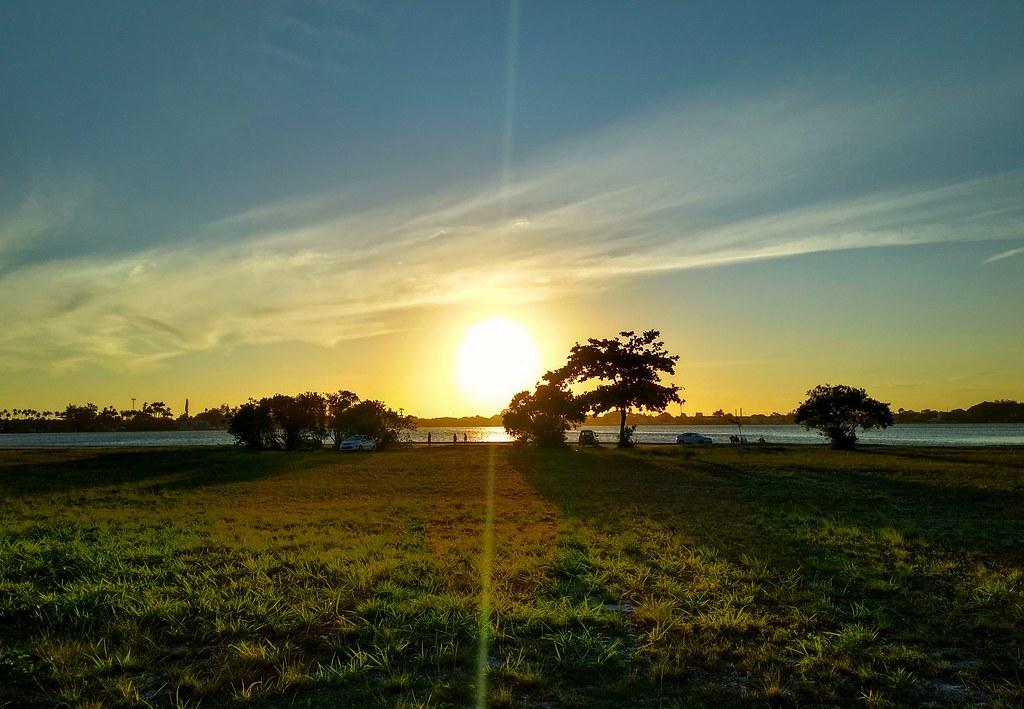 Pôr do sol em Cabo Frio