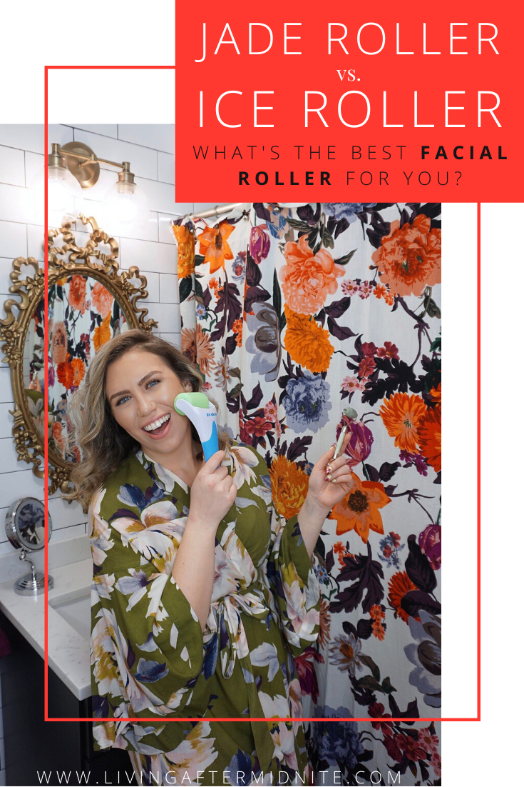 Jade Roller vs. Ice Roller: What's the Best Facial Roller for You? | Beauty Tools | Skincare Devices | Self Care | At Home | Spa | Inexpensive