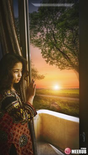 sunset window meerubstudio wallpaper classical amazing