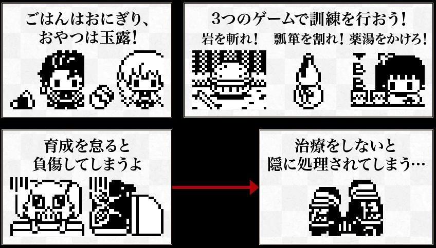 電子雞之呼吸~BANDAI 塔麻可吉×《鬼滅之刃》三款「鬼滅塔麻可吉」電子寵物遊戲機(きめつたまごっち )