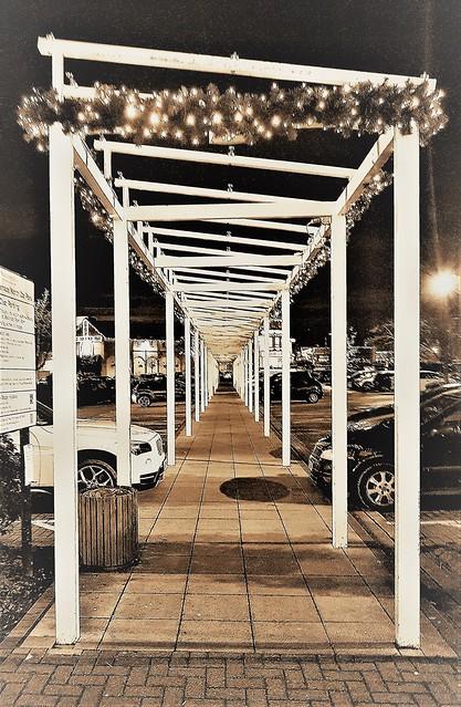 Christmas Colonnade - Morpeth