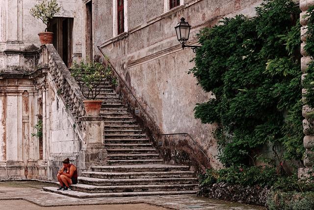 Villa d'Este Tivoli / The Staircase