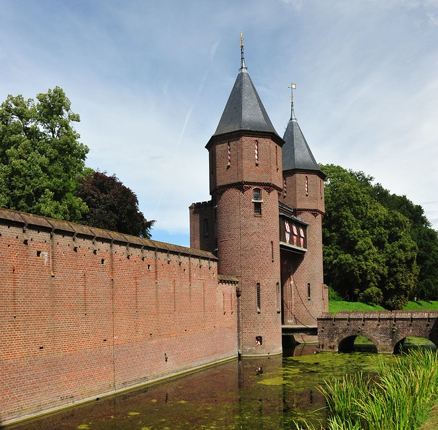 Kasteel de Haar, Haarzuilens, Netherlands,  1474