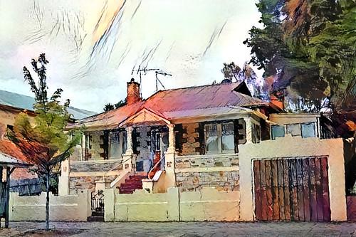 006358 hahndorf southaustralia australia textures texturen texture textur ddg deepdreamgenerator dream gebäude building architektur architecture outdoor outside netartii