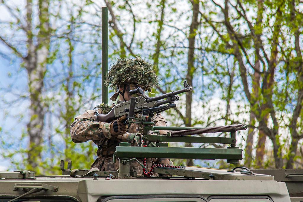 """Zemessardzes 4.Kurzemes brigādes kaujas spēju pārbaudes mācībās 27.-30.aprīlī poligonā """"Mežaine"""""""