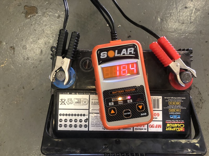 Citroen DS battery