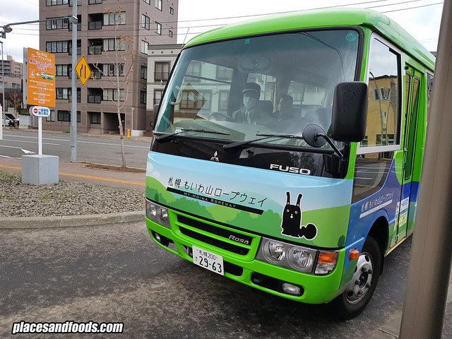 mount moiwa shuttle bus