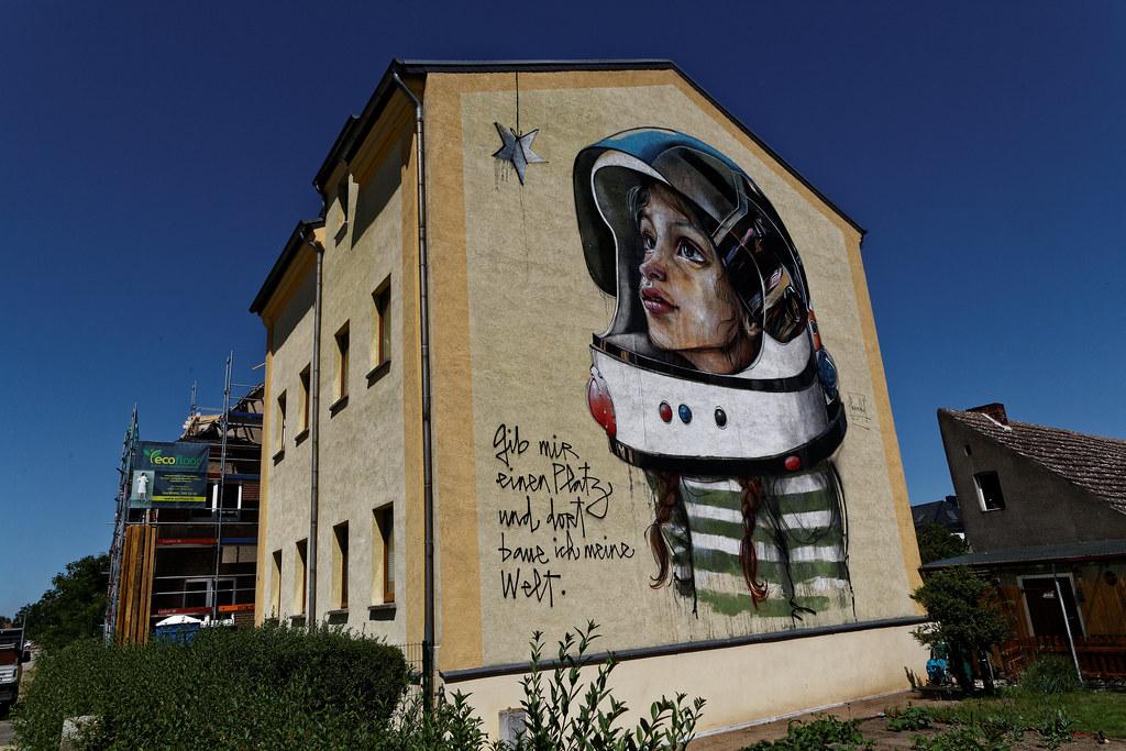 Graffiti 2019 in Wittenberg