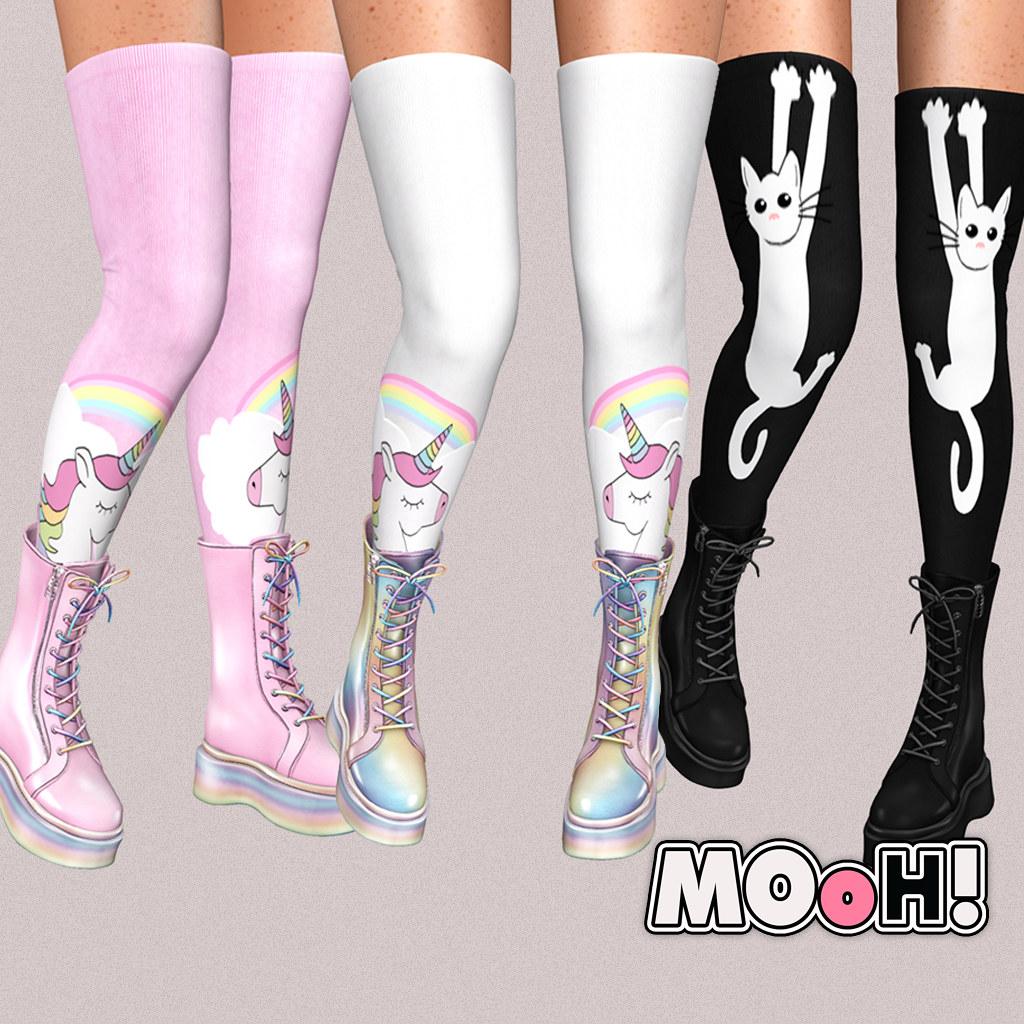 MOoH! Socks and boots gacha full