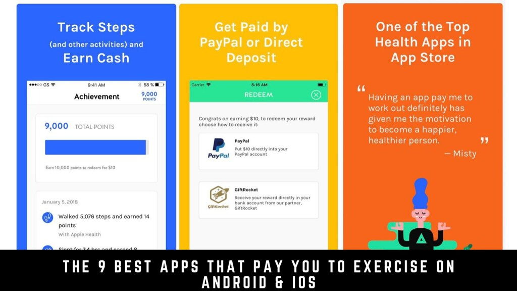 The 9 Best Apps That Pay You To Exercise On Android & iOS