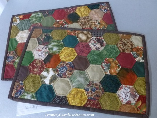 Placemat Challenge at FromMyCarolinaHome.com