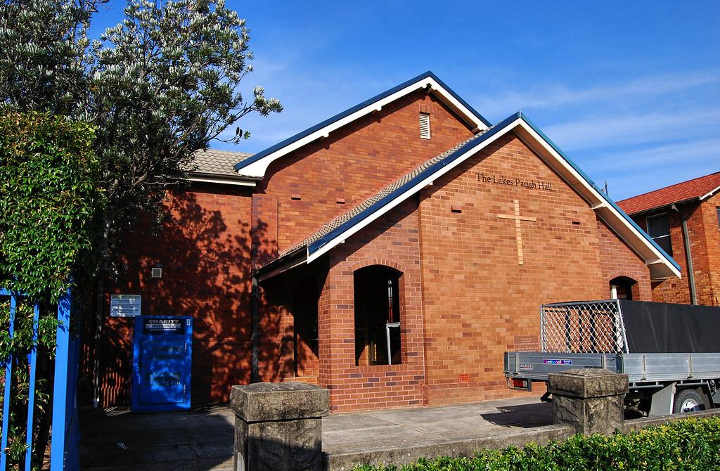 The Lakes Parish Hall, St Joseph's Catholic Church, Narrabeen, Sydney, NSW.
