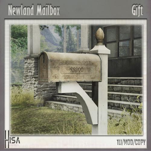 Newland Mailbox- Gift