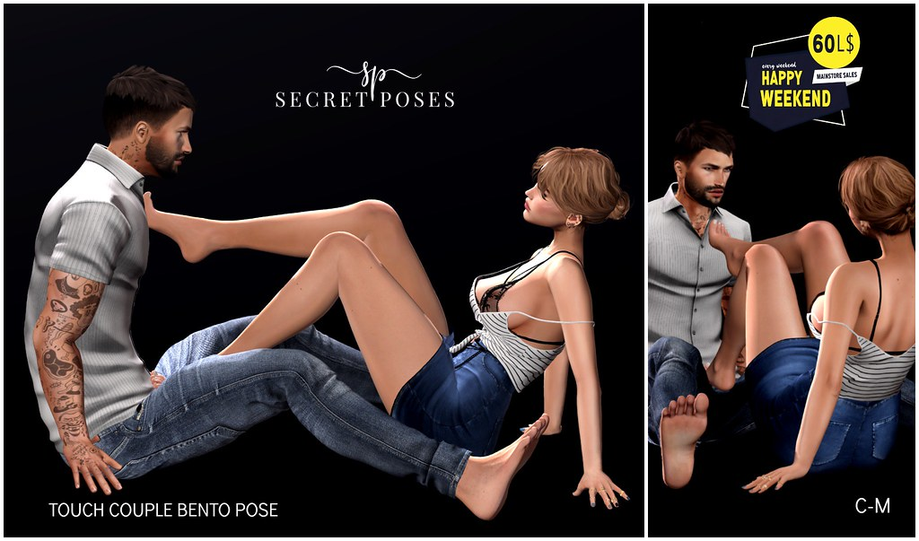 Secret Poses - Touch @ Happy Weekend
